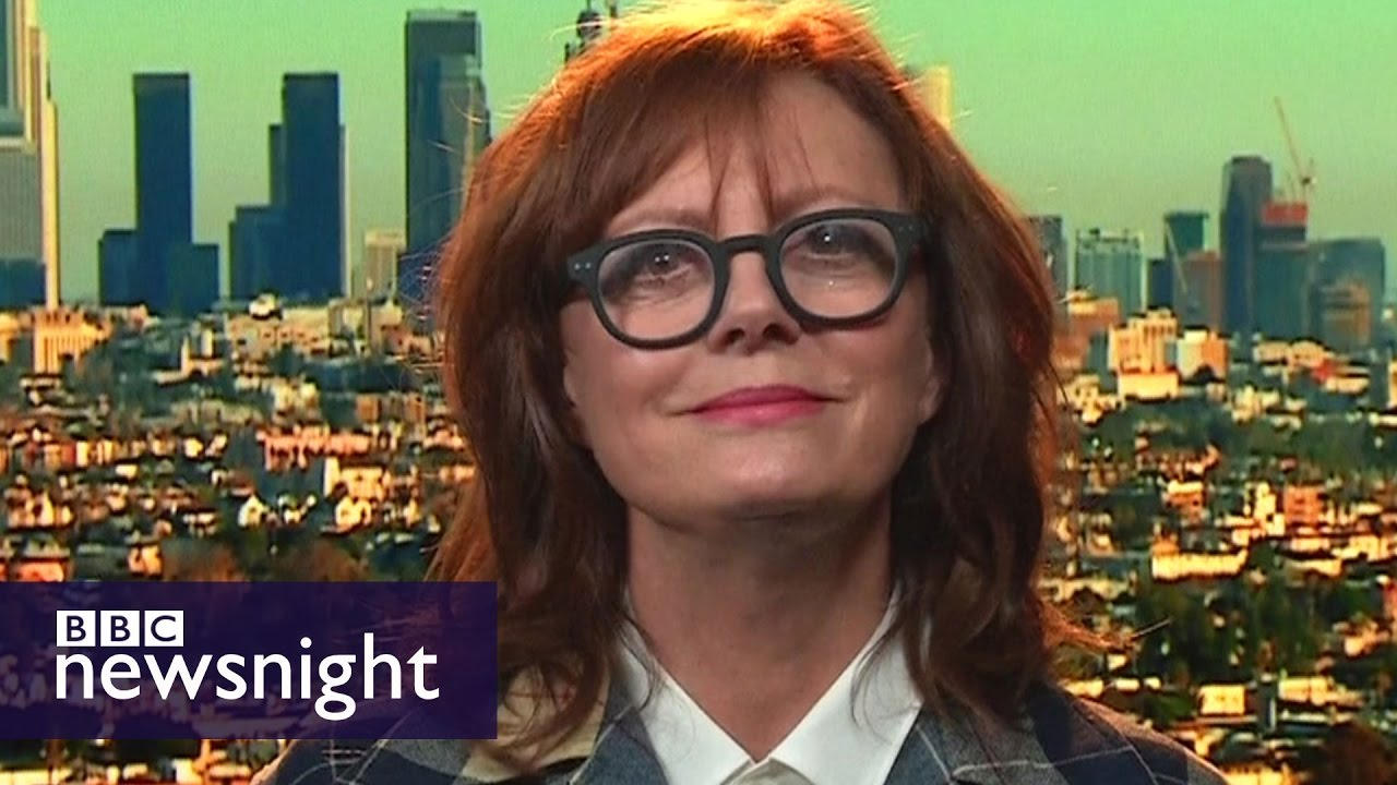 'I don't vote with my vagina': Susan Sarandon on not backing Hillary  Clinton - BBC Newsnight