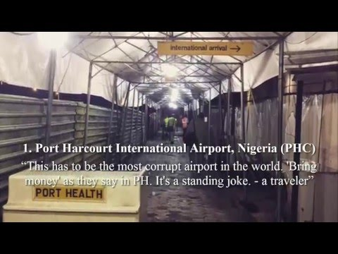 Worst Airports in The World 2016