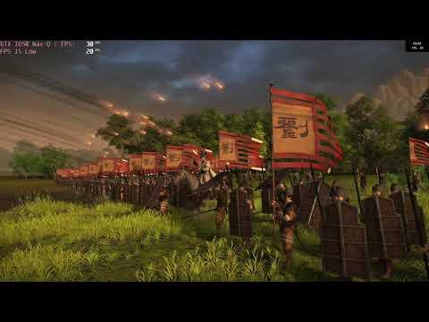 🎮 NVIDIA GeForce GTX 1650 Max-Q - Total War: THREE KINGDOMS gameplay benchmarks (1080p) |