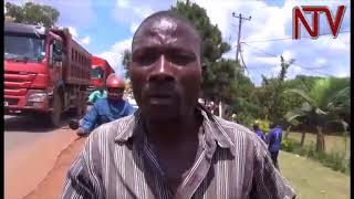 Poliisi e Mukono ekutte abazigu ababadde babbira mu takisi