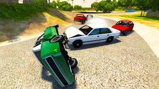 HIGH SPEED FIGURE 8 RACING! - BeamNG Drive Sunday Cup Mod