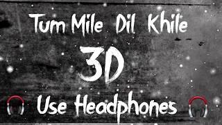 [3D Audio] Tum Mile Dil Khile 3D Audio | Use Headphones For Better Experience