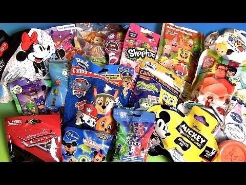 20 Blind Bags toy Surprises Mickey Minnie Sofia The First Lalaloopsy Paw Patrol