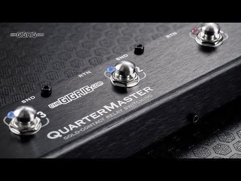 TheGigRig QuarterMaster QMX – Official Video