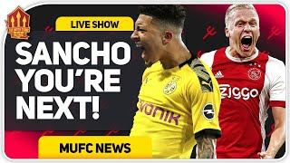 Van De Beek Done SANCHO In Next! Man Utd Transfer News