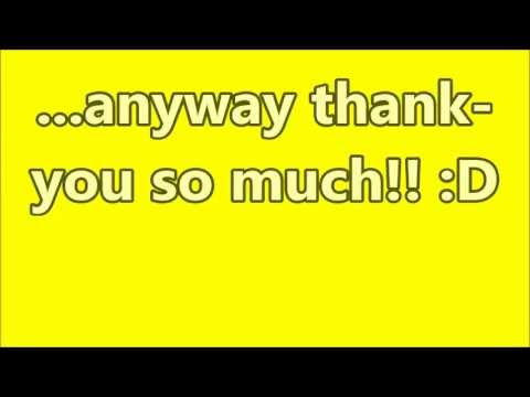 ~☆Thank-You☆~