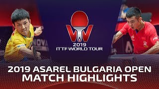 Tomokazu Harimoto Vs Zhu Linfeng  2019  TTF Bulgaria Open Highlights R32