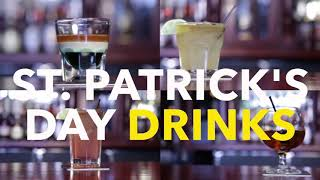 Everybody is Irish on St. Patrick's Day! Enjoy a few cocktails with Holiday Foodies.
