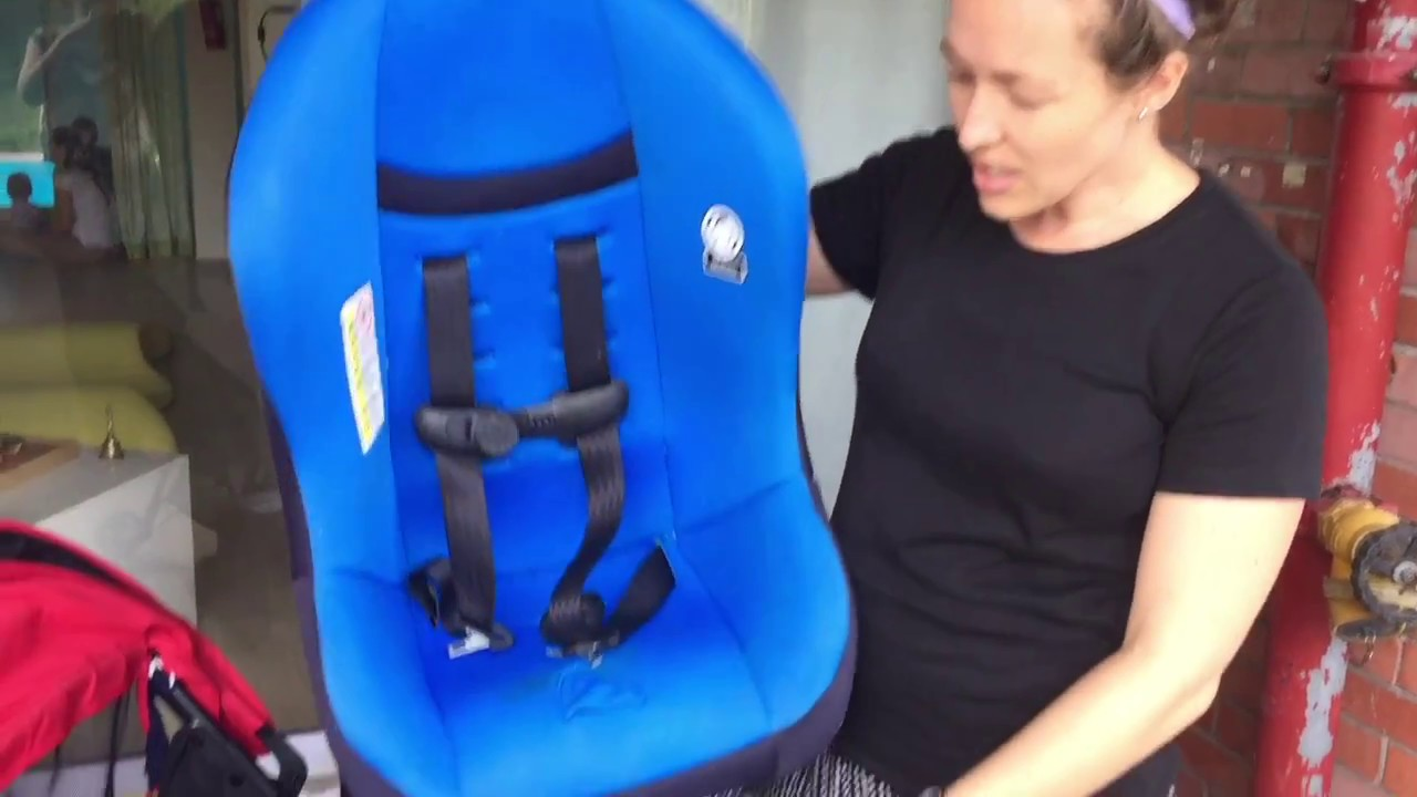 Cosco Scenera NEXT Car Seat On A Mountain Buggy Nano Stroller