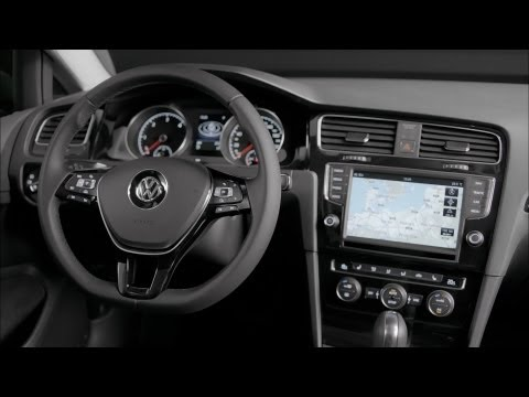 2013 Volkswagen Golf 7 ► INTERIOR