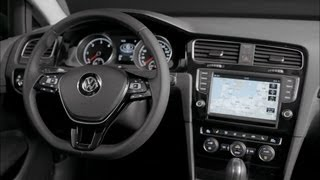 2013 Volkswagen Golf 7 ► INTERIOR