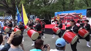 琉球國祭り太鼓(彩風ステージ第3部 - 1)/ OKINAWAまつり 2018 in 代々木公園 thumbnail