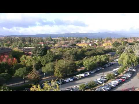 Hoover Tower and Stanford University from Blackwelder Highrise