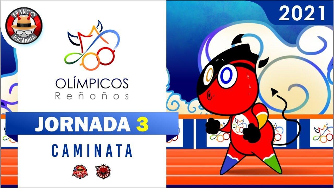 Juegos Olímpicos Reñoños 2021 - Jornada 3