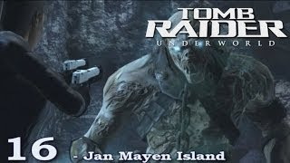 [HD] Tomb Raider Underworld Walkthrough Part 16 -  Jan Mayen Island - ITA (PS3)