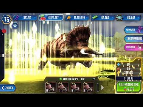 Jurassic World: Das Spiel #143 Informationen zu Pflanzenfressern! [60FPS/HD] | Marcel