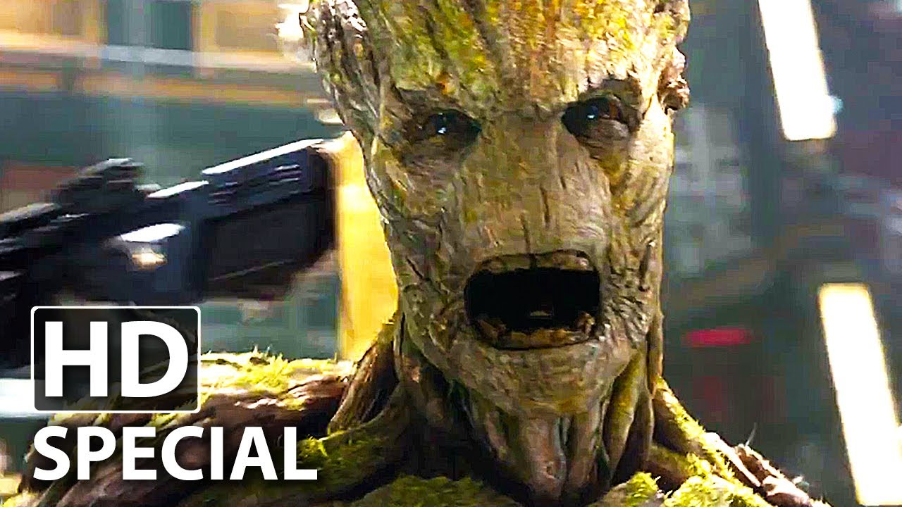 Guardians Of The Galaxy Groot Special Deutsch German Vin