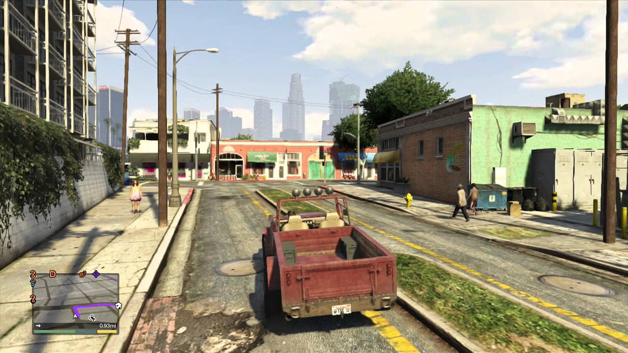 gta 5 gameplay story mode trevors garage youtube