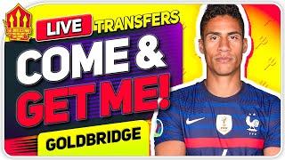 VARANE Transfer Plea! No SANCHO BID! Man Utd Transfer News