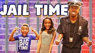 Police Kid SideWalk Patrol Going To Jail For Sneaking Into Movie Theaters