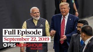 pbs newshour weekend full episode september 22 2019