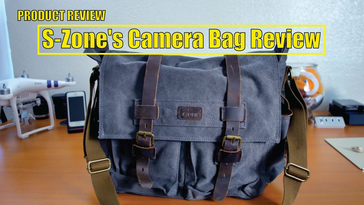 S-Zone s Camera Bag - YouTube 7bf49a5360c6a
