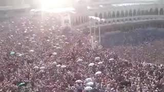 KABAR HAJI-Masya Allah, banyak sekali orang di sini(masjid al haram).