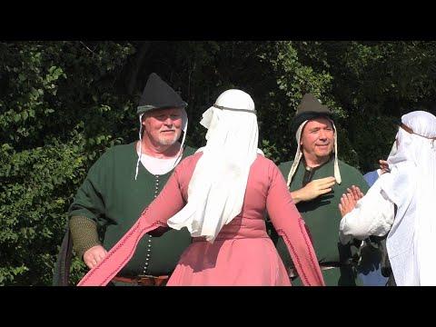 Spezzato tanzt die Estampie Nr. 5 - Mittelalterliche Tänze 1