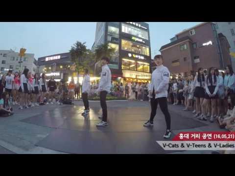 V-Cats(브이캣츠) :: Performance(퍼포먼스) :: 16.05.21 홍대 거리 공연
