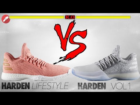 Adidas Harden Lifestyle vs Harden Vol. 1!