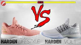 Adidas Harden Lifestyle vs Harden Vol. 1!