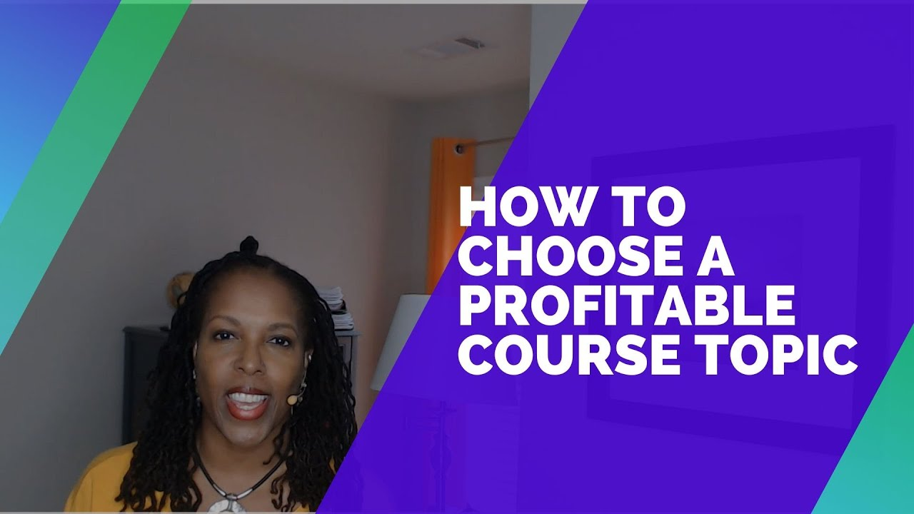 How to Choose a Profitable Course Topic