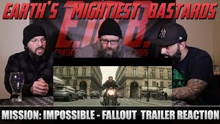 Trailer Reaction: Mission: Impossible - Fallout