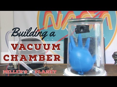 Building a vacuum chamber