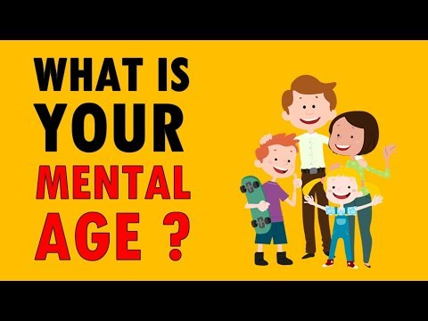 What Is Your Mental Age ? Personality Test