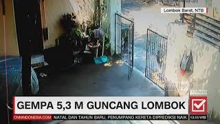 Download Video Kepanikan Saat Gempa 5,3 Magnitudo Guncang Lombok MP3 3GP MP4