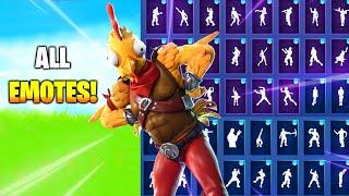 ! TENDER DEFENDER SKIN SHOWCASE WITH ALL FORTNITE DANCES/EMOTES
