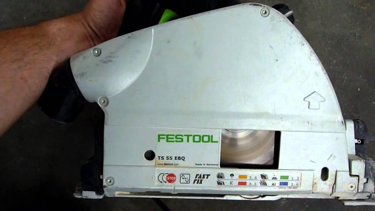 scie circulaire festool ts 55 ebq / festool ts 55 ebq circular saw