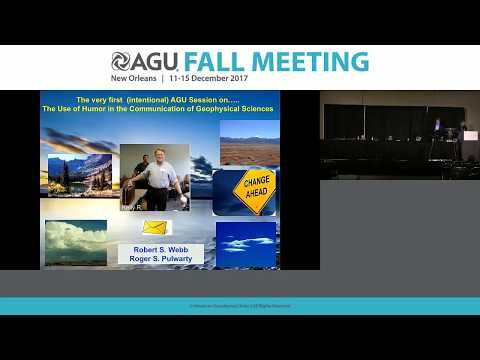 2017 Fall Meeting - U54A: The Use of Humor in the Communication of Geophysical Science