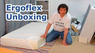Ergoflex 5G memory foam mattress unboxing - UK mattress