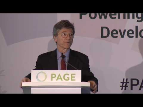 PAGE-Ministerkonferenz - Inclusive Growth and Full Employment (Keynote Jeffrey Sachs and Panel)