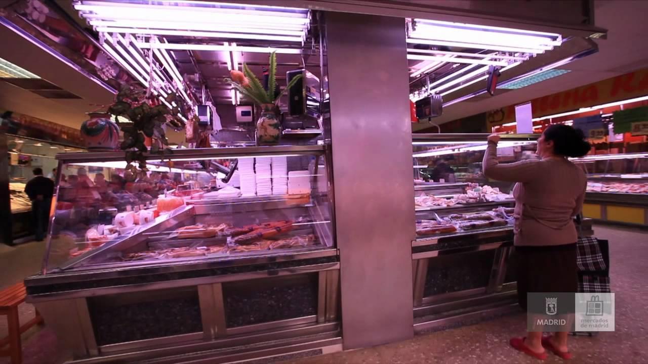 Mercados de madrid mercado de las guilas youtube - Carniceria en madrid ...