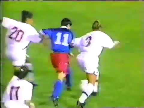 1998 USWNT v Russia Mia Hamm 100th goal