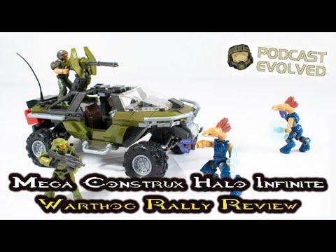 New Halo Infinite Mega Construx 2020 Marine From Warthog Rally NEW