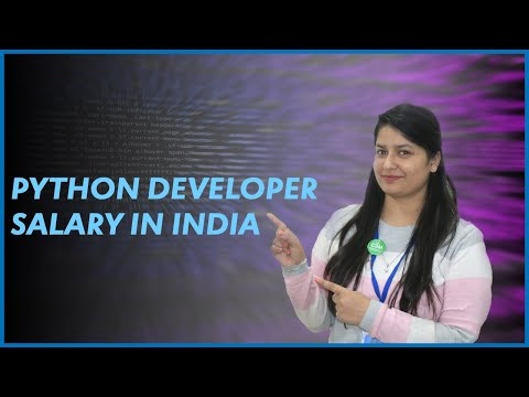 Python Developer Salary in India