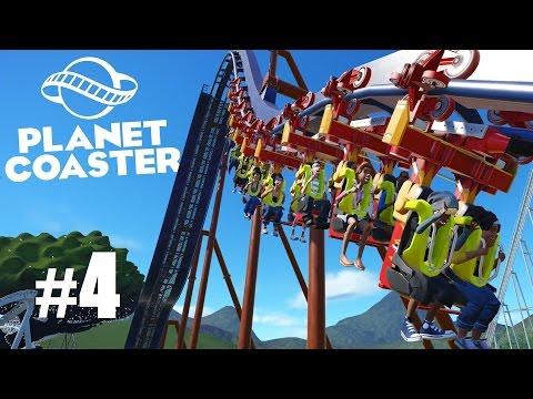 Let's Play Planet Coaster - LA PREMIERE VRAIE MONTAGNE RUSSE #4 [🇫🇷]