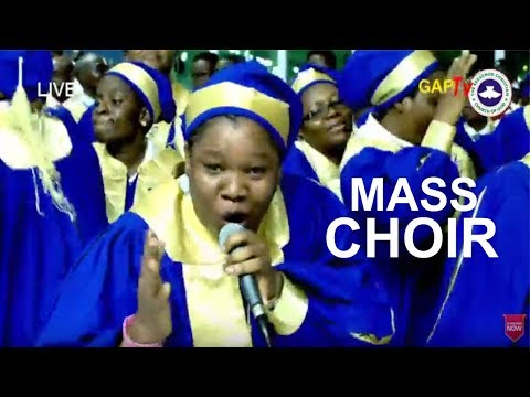RCCG Mass Choir POWERFUL Ministration @ August 2017 HOLY GHOST CONVENTION SERVICE