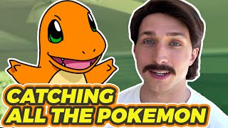 CATCHING ALL THE POKEMON (BTS)