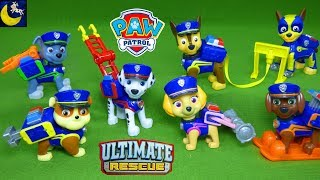 Paw Patrol Toys Ultimate Rescue Police Pups Policeman Chase Fireman Marshall