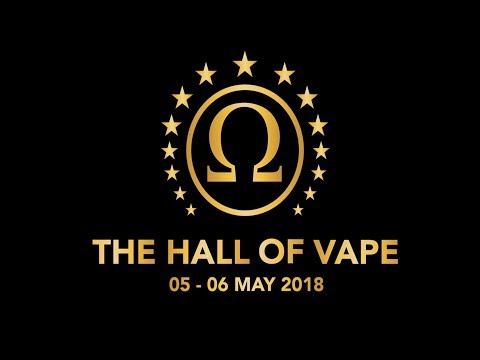 The Hall of Vape 2018 Stuttgart - BasilisL (Greek Reviews)